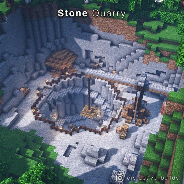 I made a Stone Quarry!
