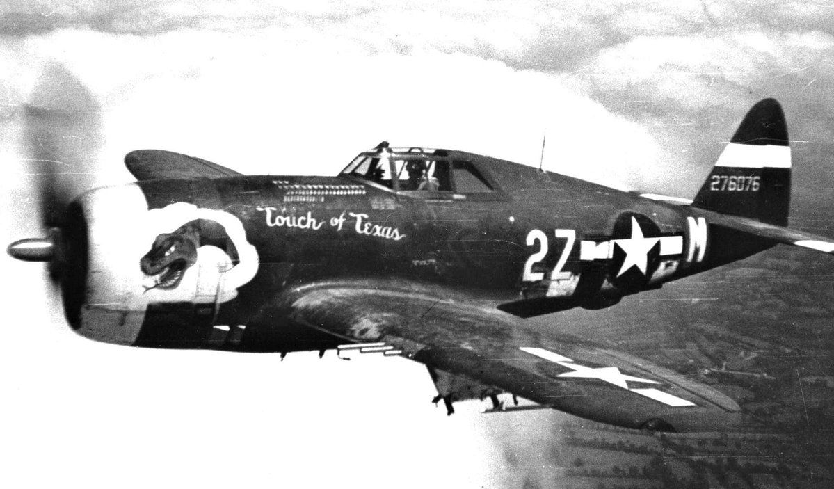 "P-47 Thunderbolt ""Touch of Texas"""