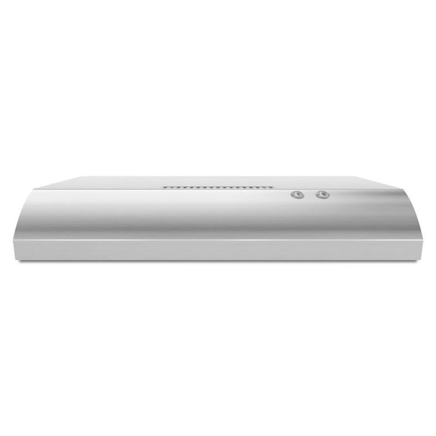 Shop Whirlpool Undercabinet Range Hood (Stainless Steel) (Common: 36 -in; Actual: 35.938-in) at Lowes.com