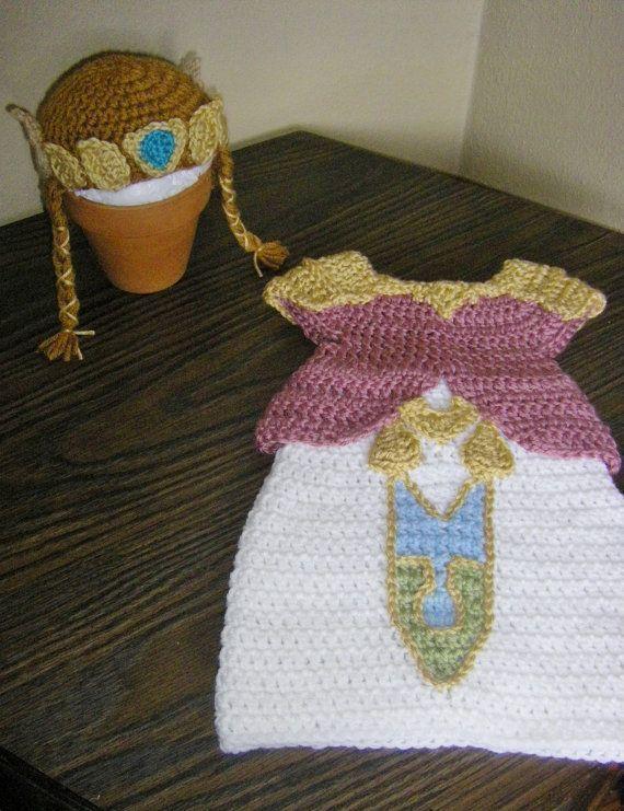 Zelda Twilight Princess outfit for newborn