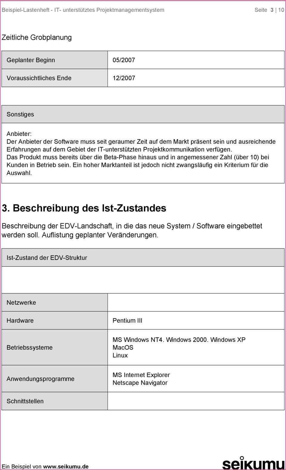 Nett Lastenheft Beispiel Maschinenbau In 2020 Projekt Planung Maschinenbau Prinzipien