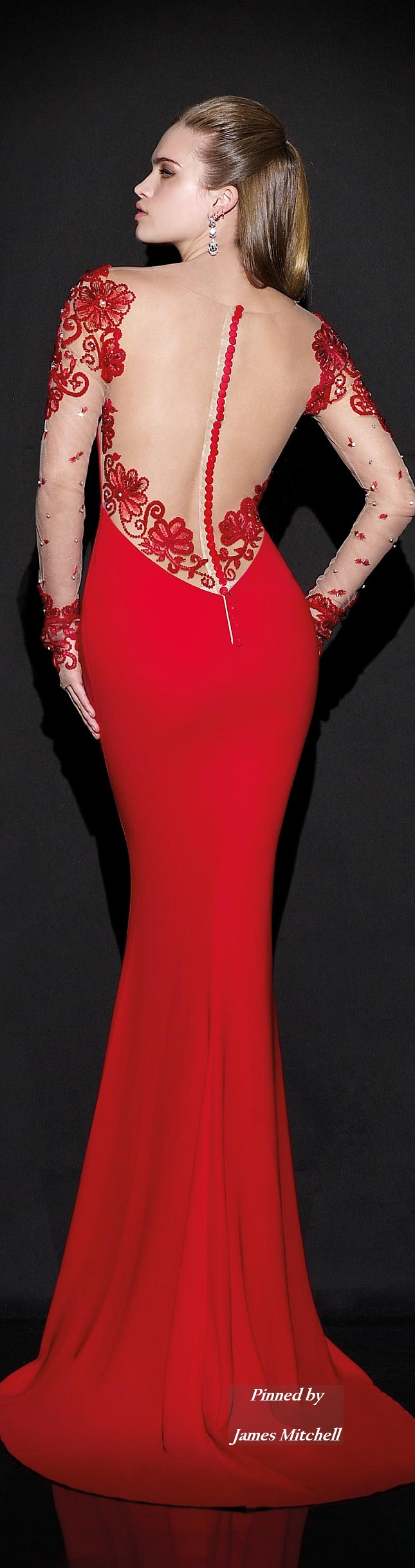 Tarik ediz collection red pinterest collection gowns and