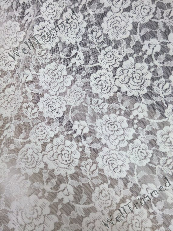 b73bf129bcdf4 Wedding fabric lace stretch lace fabric, floral stretch lace ...