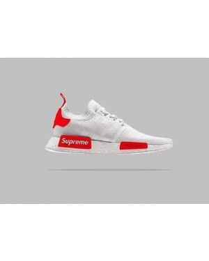 Adidas Originals NMD Supreme White Red | Sneaker in 2019