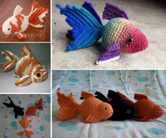 Amigurumi Fish Free Pattern | 458x550