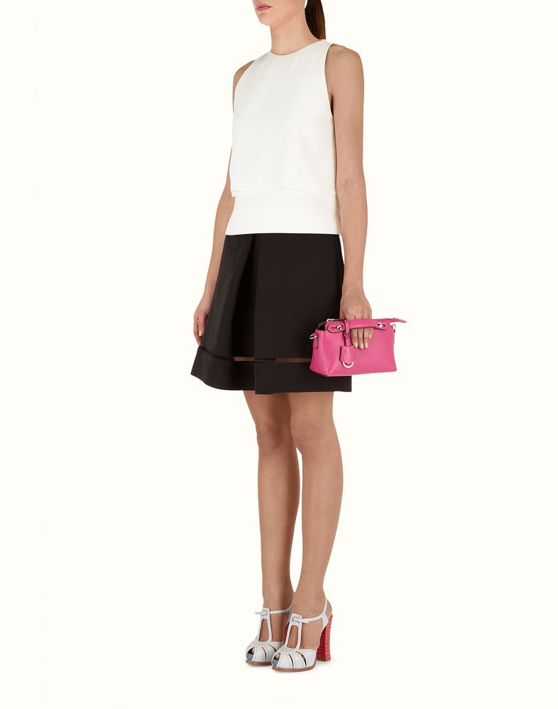 da87c10f39 FENDI | BY THE WAY MINI magenta leather Boston bag | Bags