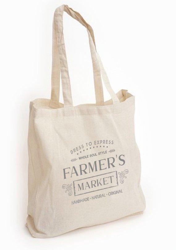 Whole Soul Farmer S Market Canvas Tote Bag Farmers