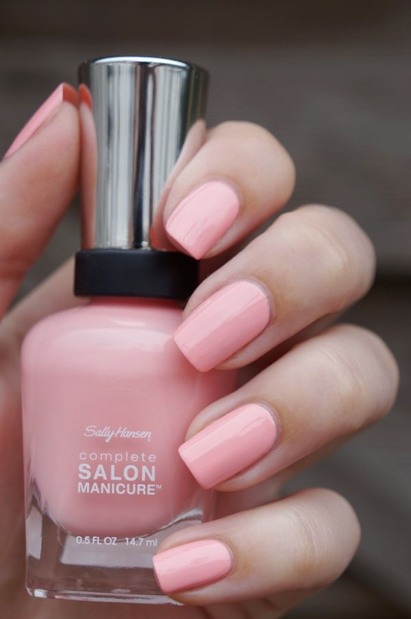 Sally Hansen Complete Salon Manicure Pink At Him 500 Nail Design Art