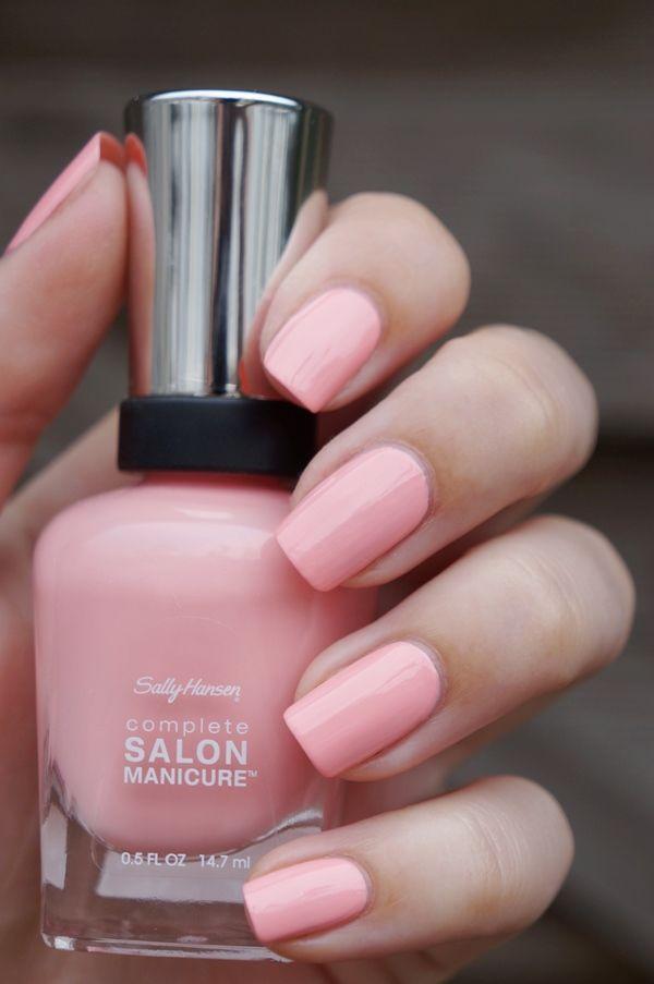 sally hansen complete salon manicure pink at him 500. Black Bedroom Furniture Sets. Home Design Ideas