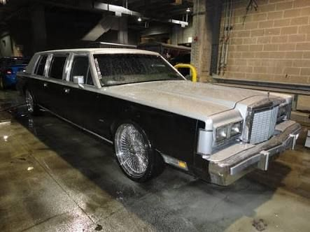 1985 Lincoln Continental Town Car Stretch Limousine Lincoln