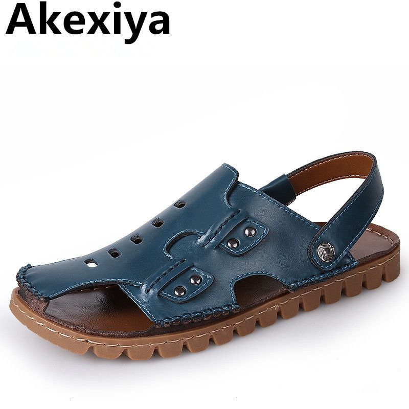143eee40de3f2 Click to Buy    Akexiya Big Size Men Sandals Summer Fashion Men Casual.