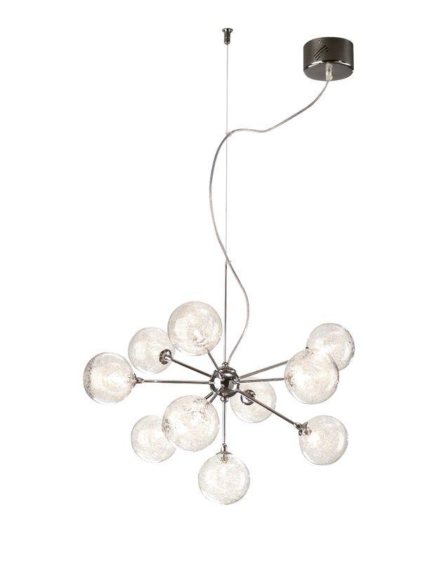 Lampa Philips Barbarossa Pendel Krom 10x10w 12v Belysning Lampor Taklampa