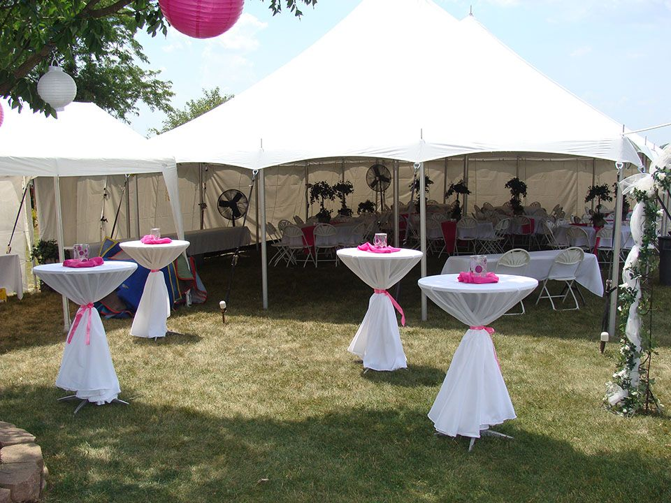 Graduation tent decorating ideas wedding tent pole for Baby shower canopy decoration