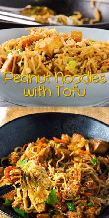 Peanut Noodles With Tofu