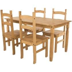 Photo of Choe dining set with 4 chairs