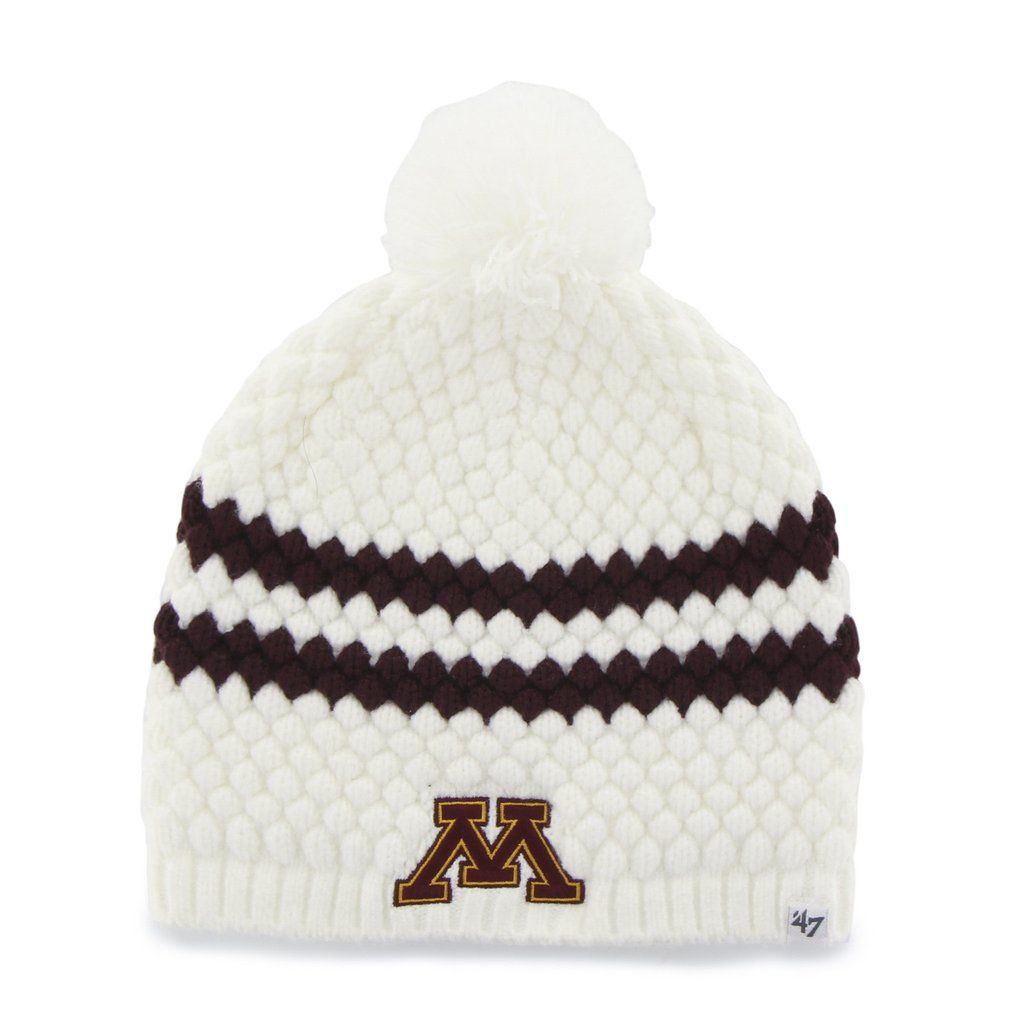 free shipping ab8ad 0217a MINNESOTA GOLDEN GOPHERS  47 KENDALL BEANIE    47 – Sports lifestyle brand    Licensed