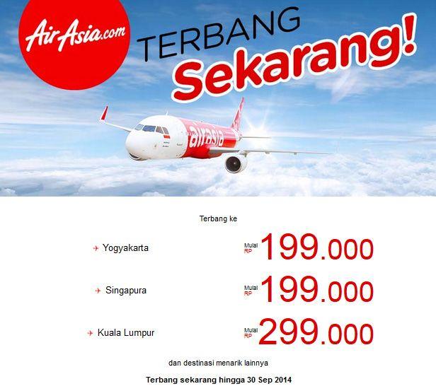 Airasia Promo Terbang Sekarang Mulai Dari Rp 199 Ribu Pricearea