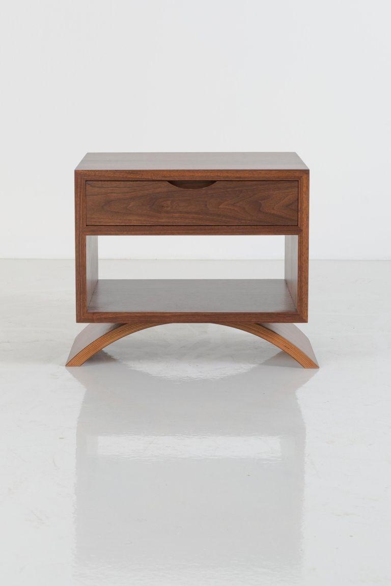 Vita Cube Side Table Furniture Design Wooden Leather Bedside Table Bedside Table Design