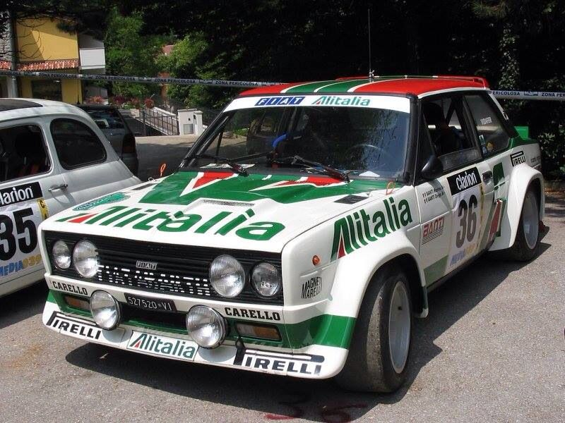 131 Mirafiori Abarth With Images Fiat Cars Fiat Rally Car