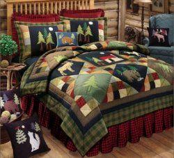 Bear And Moose Comforter Sets Bed In A Bag Sets Lodge Cabin
