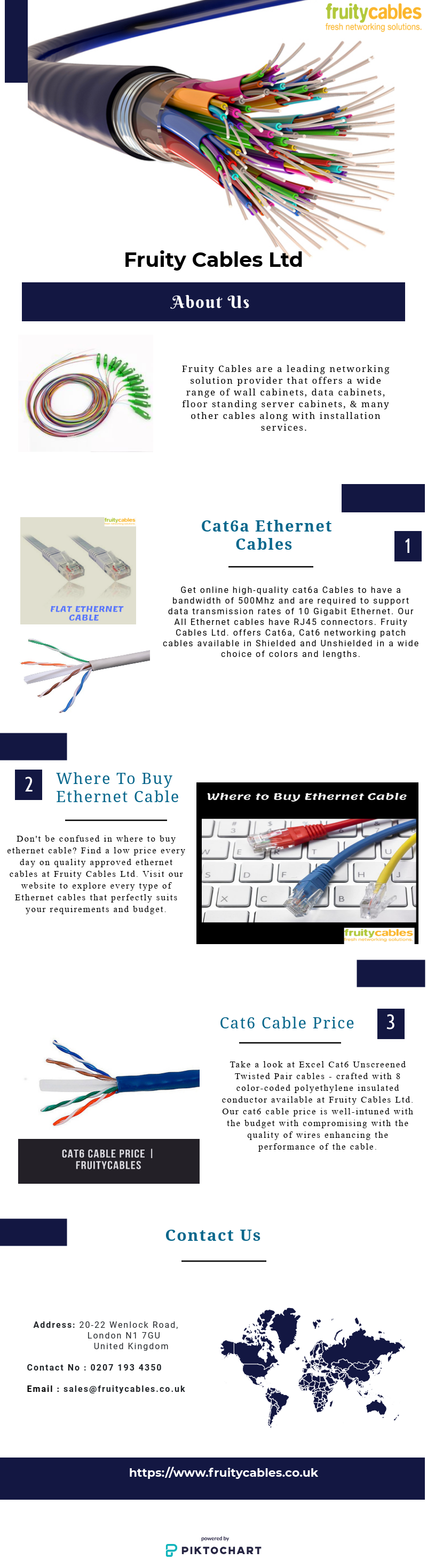 Get online highquality cat6a Cables to have a bandwidth
