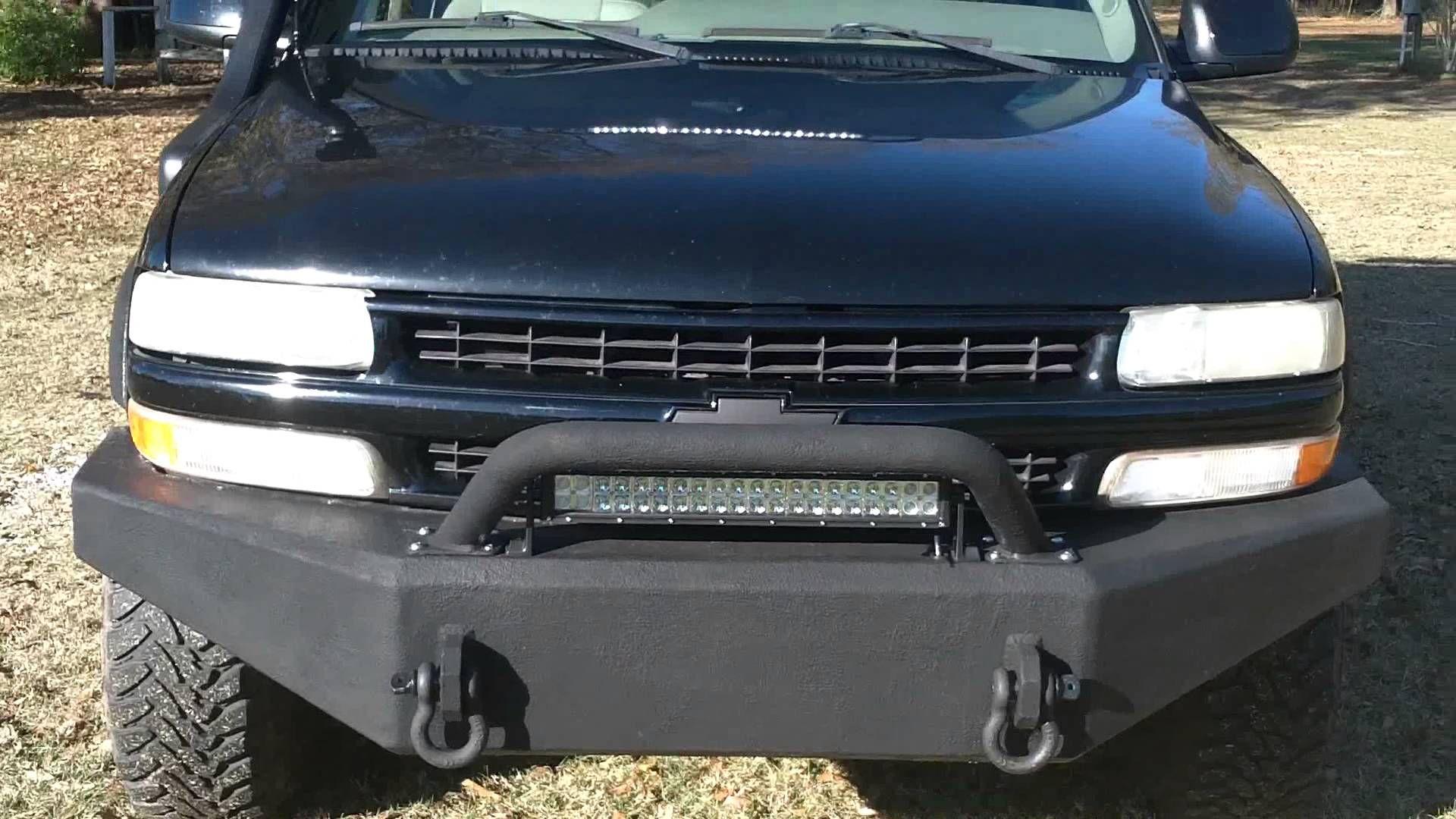 2003 chevy tahoe z71 custom bumpers rock sliders roof rack