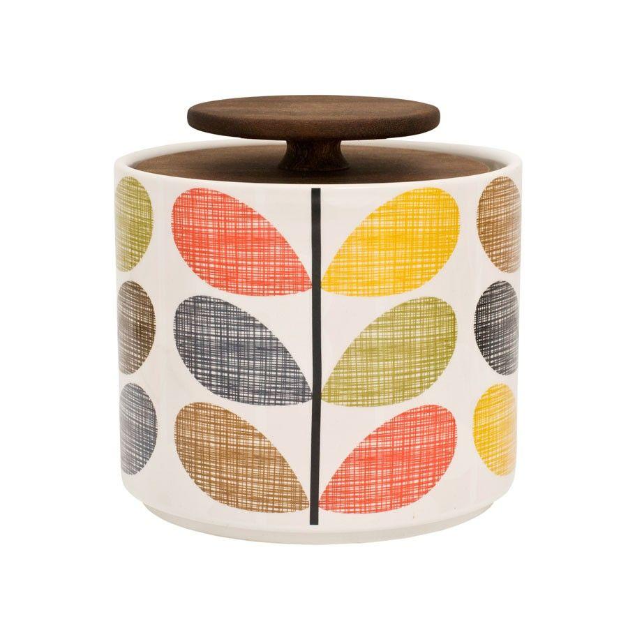 Orla Kiely Multi Stem Small 1L Storage Jar