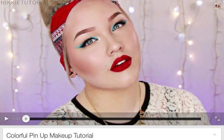 modern pin up makeup - Cerca con Google