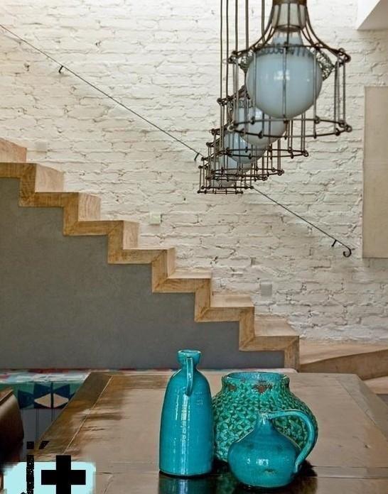Lámparas para todos los estilos y gustos Pinterest - lamparas para escaleras