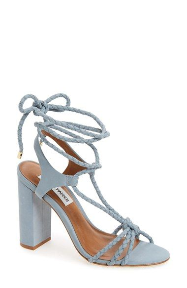 Steve Madden 'Samarie' Ankle Tie Sandal (Women) available at