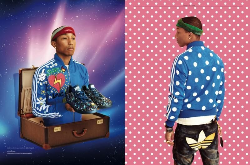 04966f0aeb29 Pharrell Williams Featured on the Current Cover of