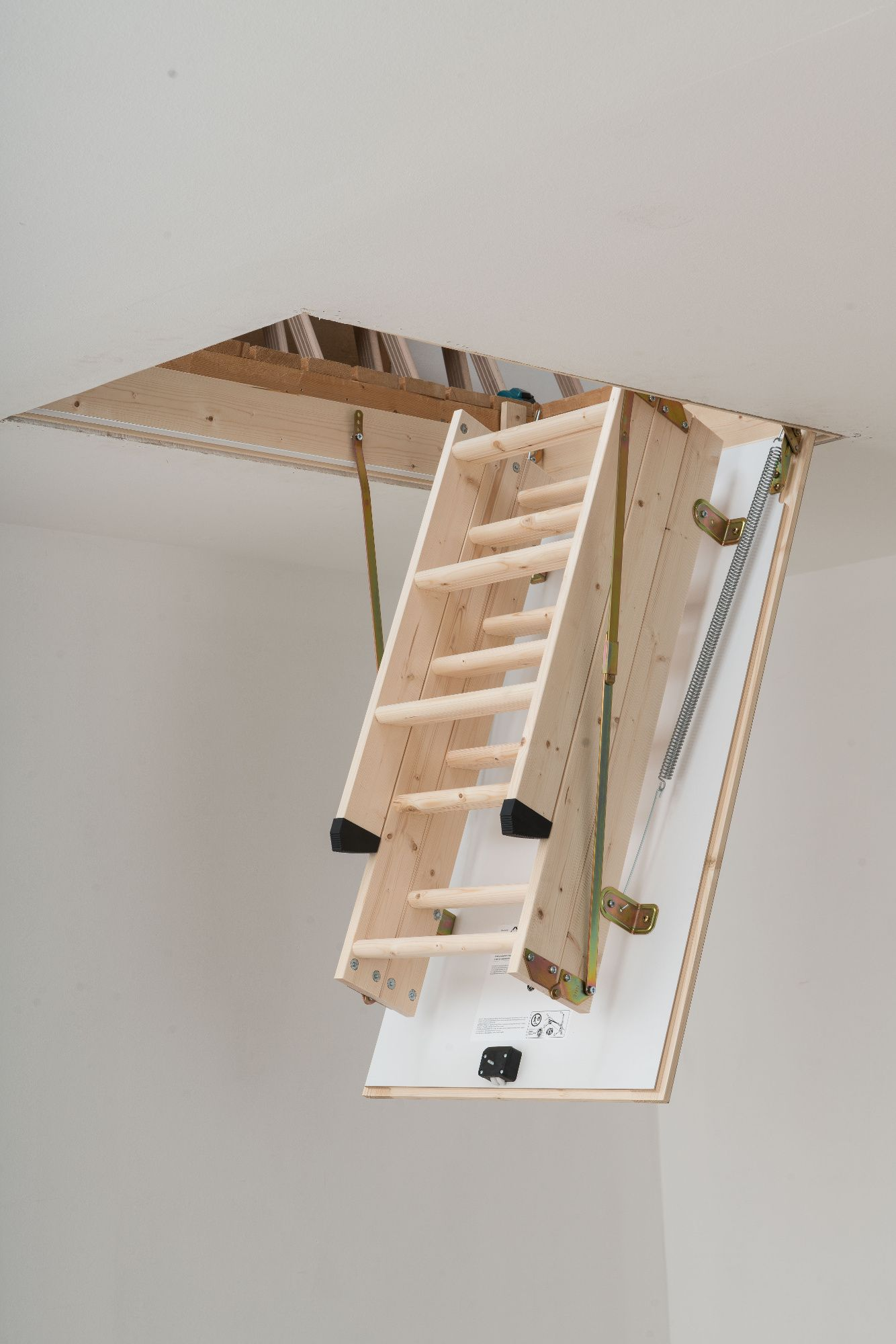Dolle Hobby Timber Folding Loft Ladder To Suit An Opening Size Of 1200 X 700mm From 162 00 Inc Vat Uk Mainland Delivery Loft Stairs Folding Attic Stairs House Plan With Loft