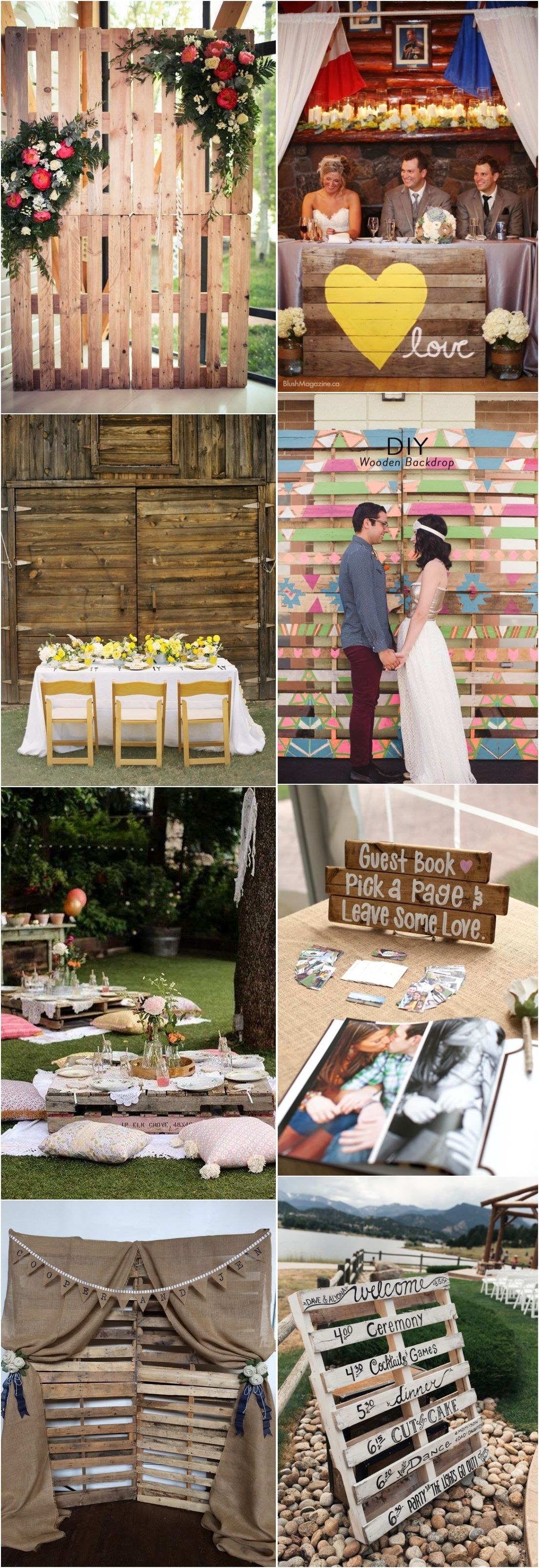 Say I Do To These Fab 100 Rustic Wood Pallet Wedding Ideas Country