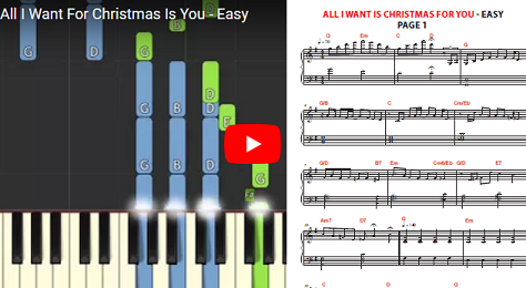 Bonus Christmas Songs Solo Christmas Songs Solo Learn Quickly How To Play The Most Popular Christmas Songs I Learn Piano Learn Music Theory Piano Lessons