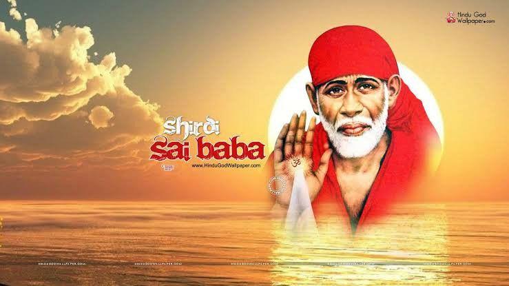 Pin By Priyanka On Sai Baba Messages Sai Baba Wallpapers Sai Baba Hd Wallpaper Sai Baba