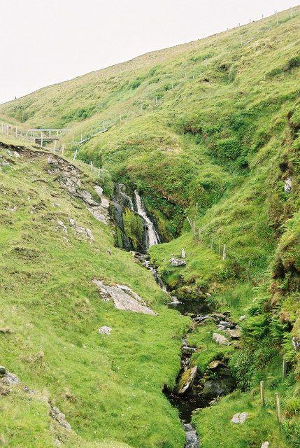 Burn of Geosetter, near Bigton, Shetland