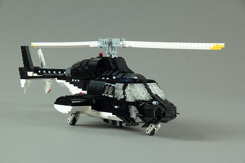 Custom Built LEGO Supercopter