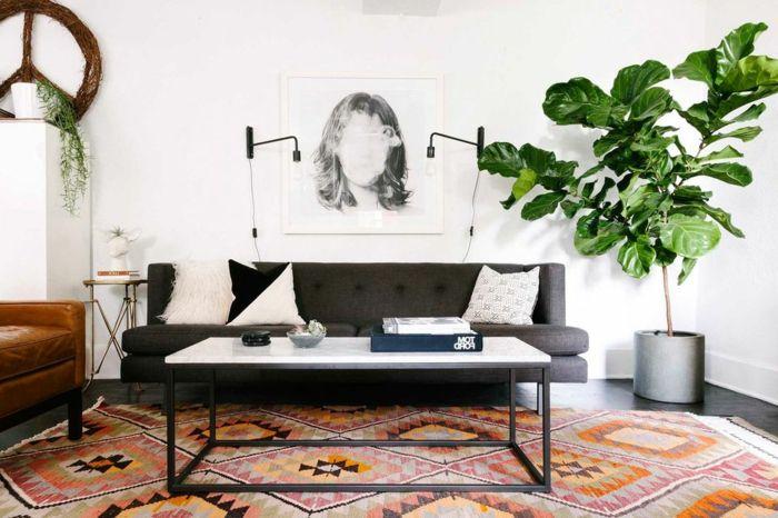 ▷ 1001 + Wohnzimmer Ideen für kleine Räume zum Entlehnen | Sofa ...