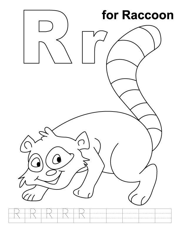 Cartoon Raccoon Coloring Pages Jpg 600 897 Animal Coloring