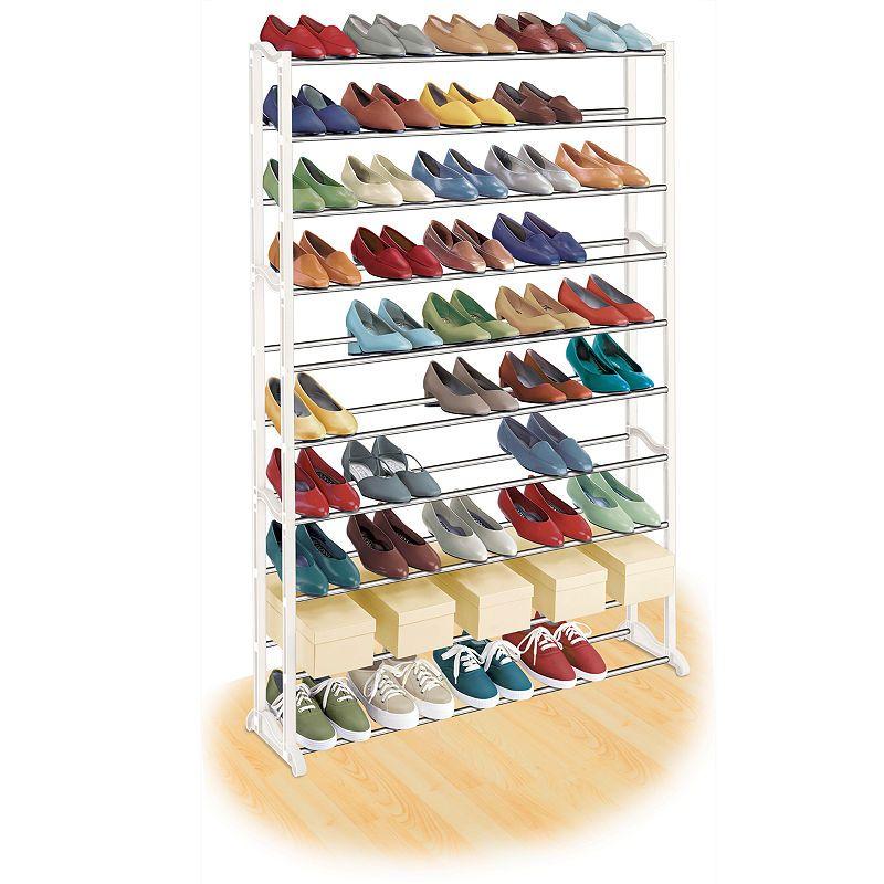 Lynk 50 Pair Shoe Rack 50 Pair Shoe Rack Shoe Rack Organization Shoe Storage Rack