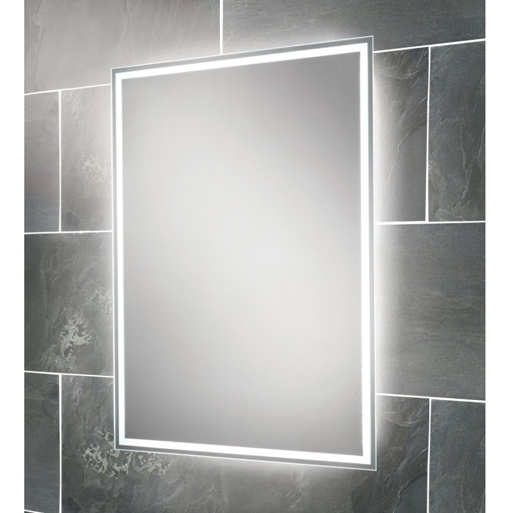 HiB Ella Steam Free Back Lit Mirror Art No. 64154495 | Lights