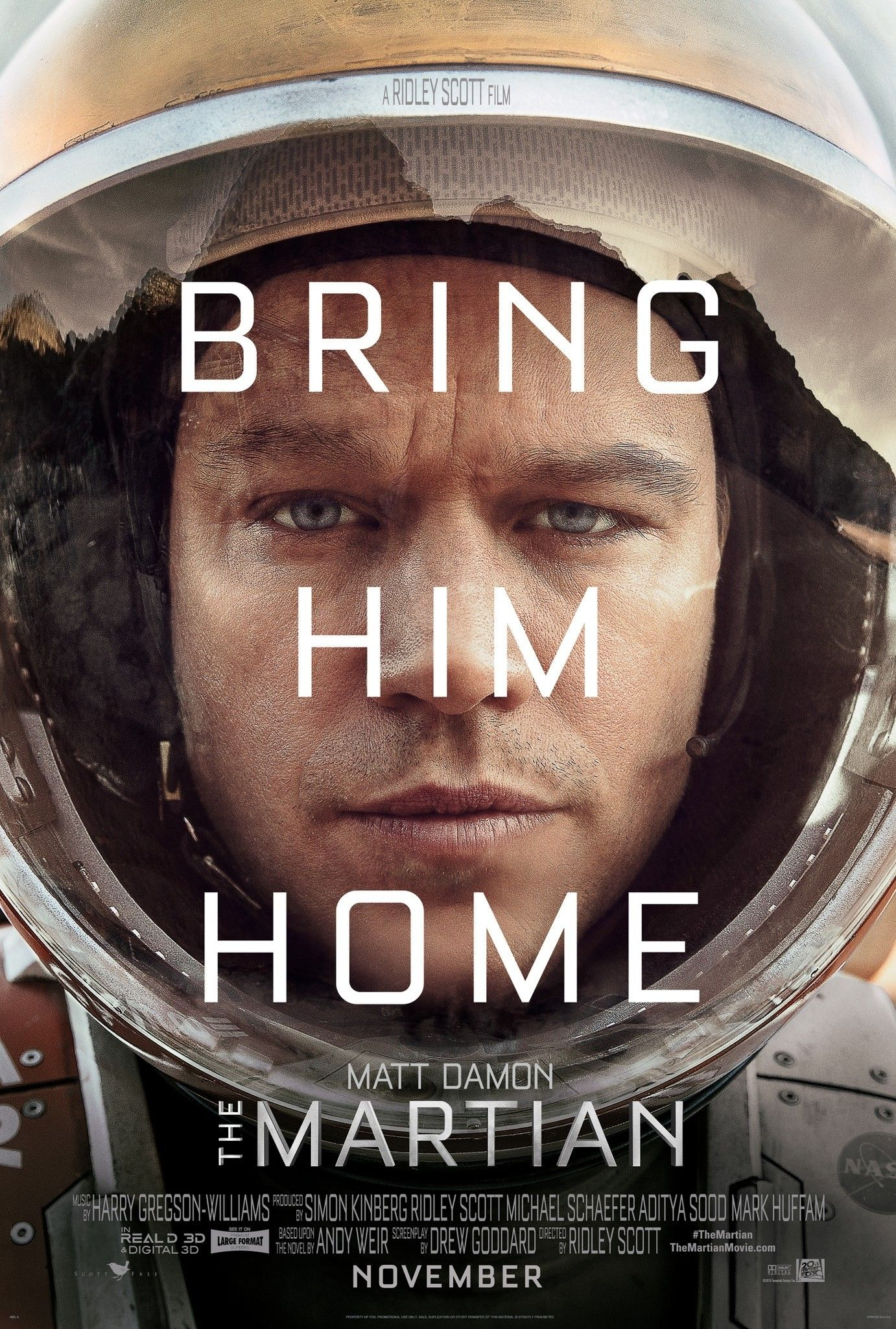 The Martian Bring him home Movies TV Shows