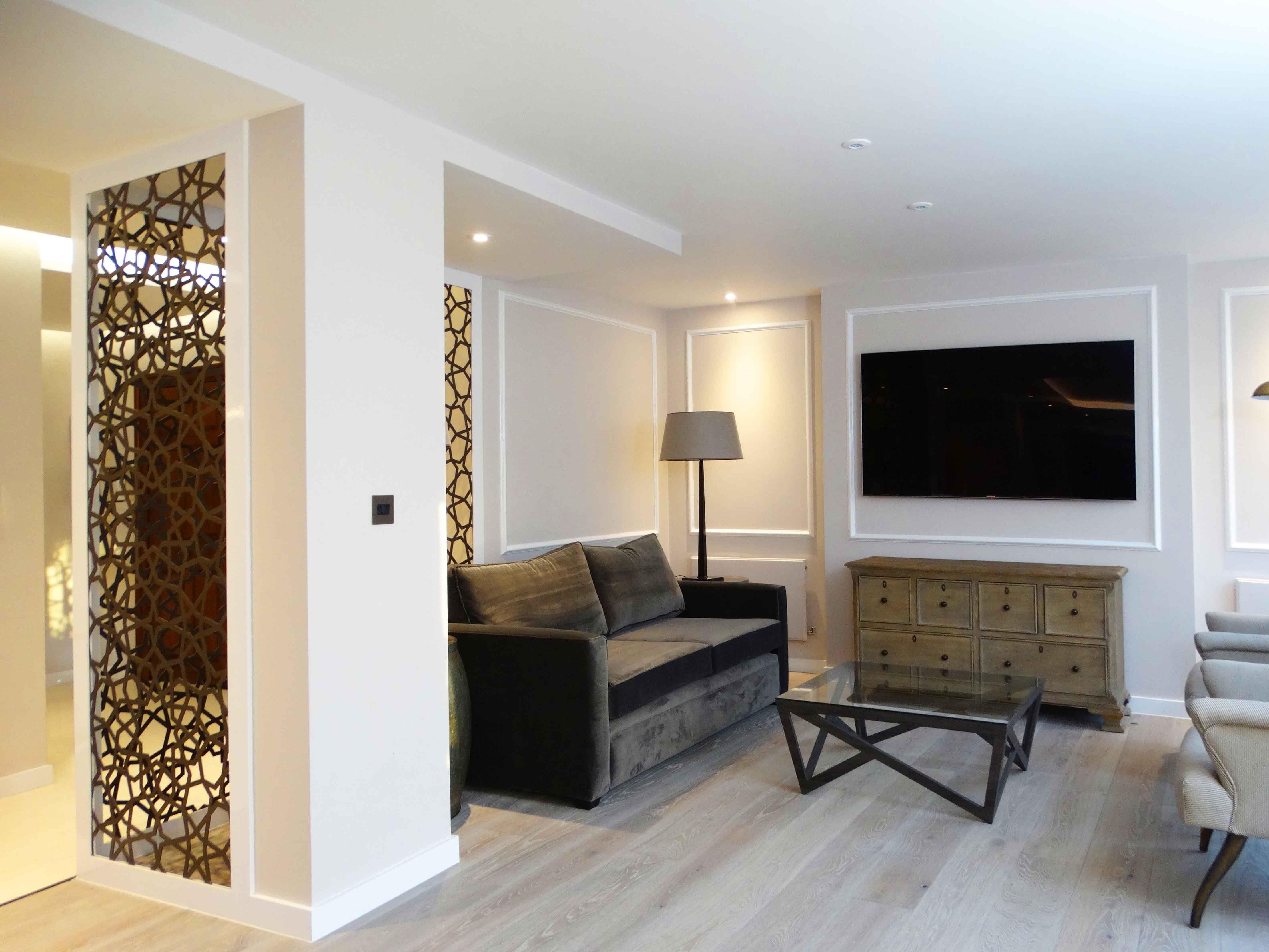 Laser Cut Screens Westminster London Room Divider Rosette  # Muebles Waldorf