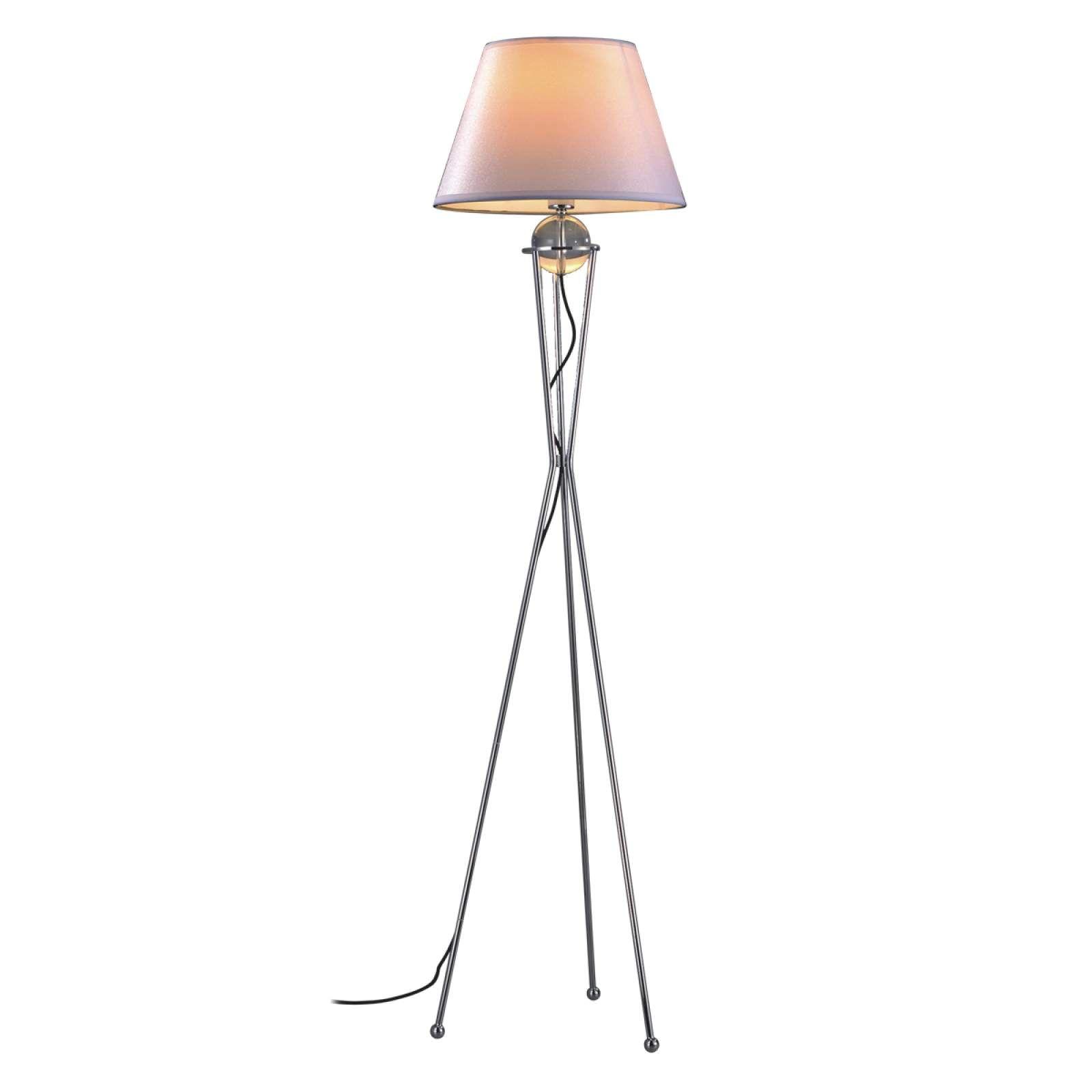 Moderne Stehlampe Zsa Von Pamalux Grau Stehlampe Dimmbar