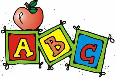 elementary school teacher clip art abc clipart illustration rh pinterest com abc clip art letters abc clipart images