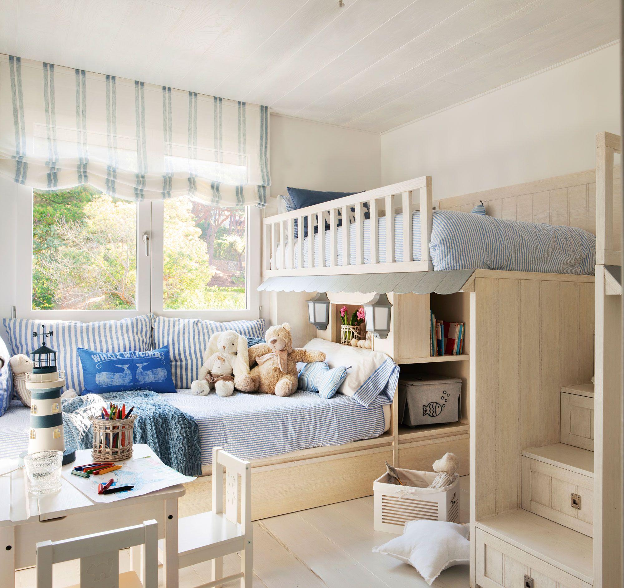 juegos de muebles de dormitorio macizo Tunea Sus Literas Habitaciones Infantiles Dormitorios Y