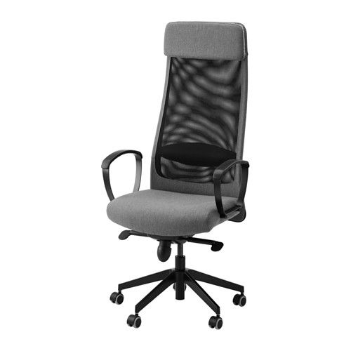 ikea markus swivel chair vissle grey 10 year guarantee read about the terms in the