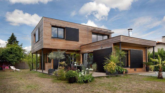 Maisons Durables  une maison bois de constructeur, mais - Plan De Construction D Une Maison