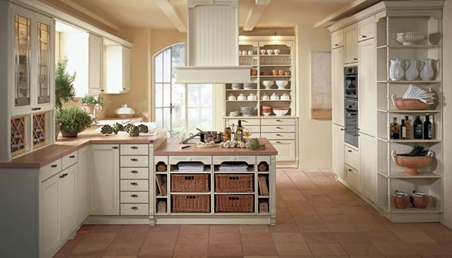 Kleine landelijke keuken landelijke keukens pinterest keuken keukens en landelijk wonen - Kleine keuken amerikaanse keuken ...