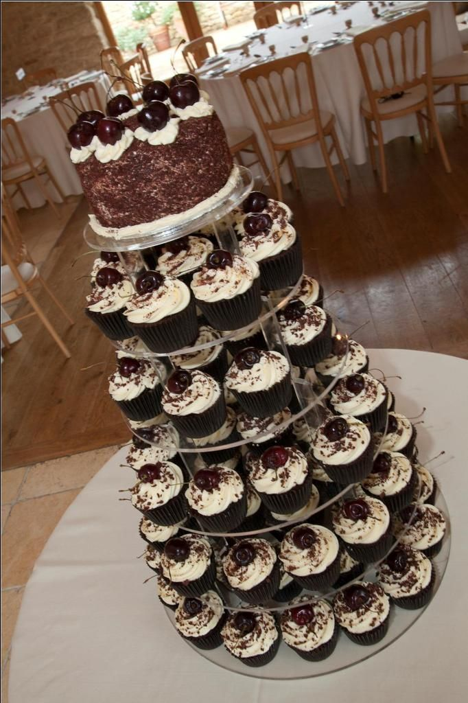 black forest wedding cake black forest cupcake tower cakes cupcakes amp desserts 11863